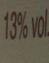 Cahors 2011 - Voedingswaarden