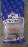 Pains au chocolat (x 8) 360 g - Produit - fr