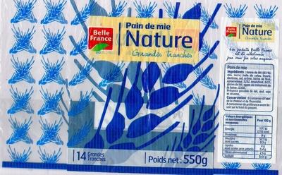 Pain de mie Nature (14 Grandes tranches) - Product - fr