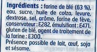 Pain de mie Nature (14 Grandes tranches) - Ingrediënten - fr