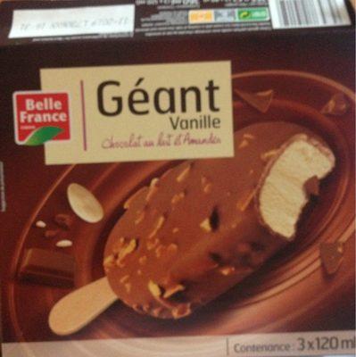 Géant Vanille - Produit - fr