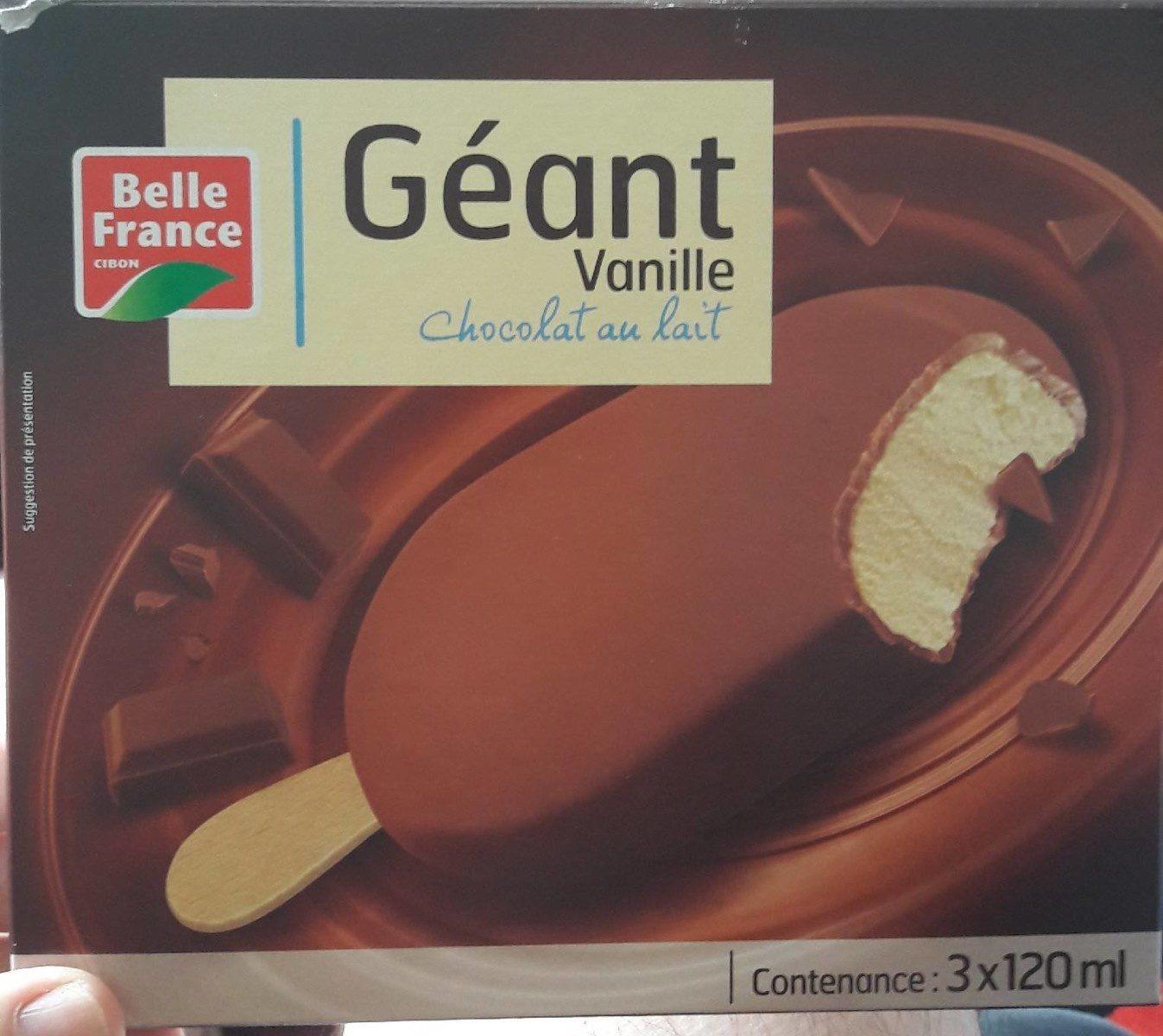 Géant Vanille Chocolat au lait - Produit - fr