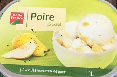 Bac 1L.Sorbet Poire - Produit - fr