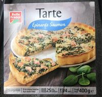 Tarte Epinards Saumon - Produit - fr