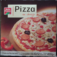 Pizza au chorizo - Produit - fr