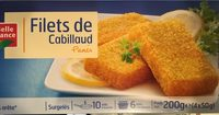 Filets de cabillaud panés - Produit - fr