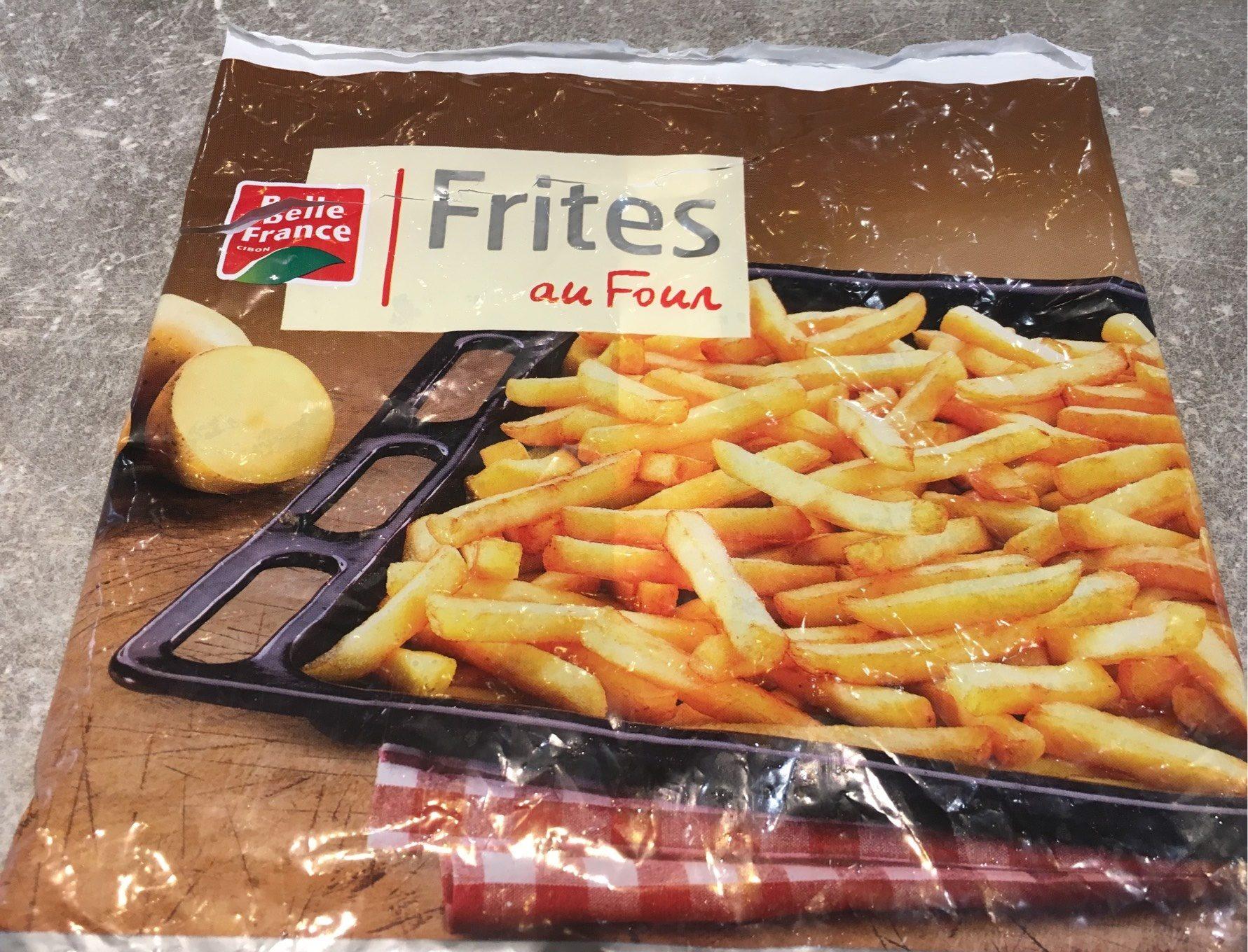 Frites au four - Produit