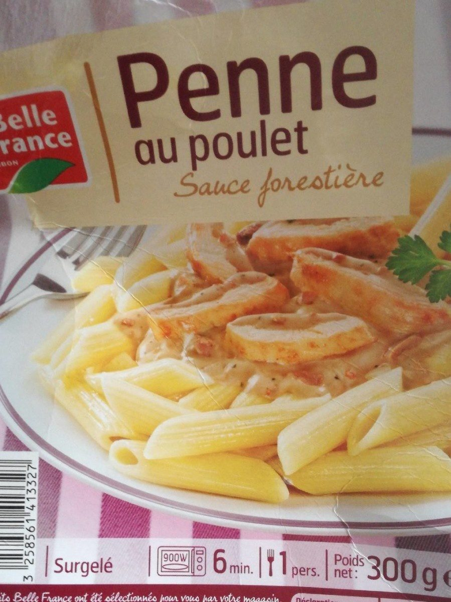Penne au poulet sauce forestière - Product