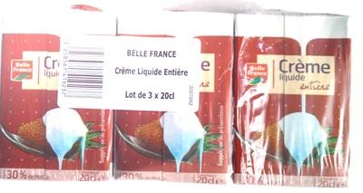 Crème liquide entière (30 % MG) - Product - fr