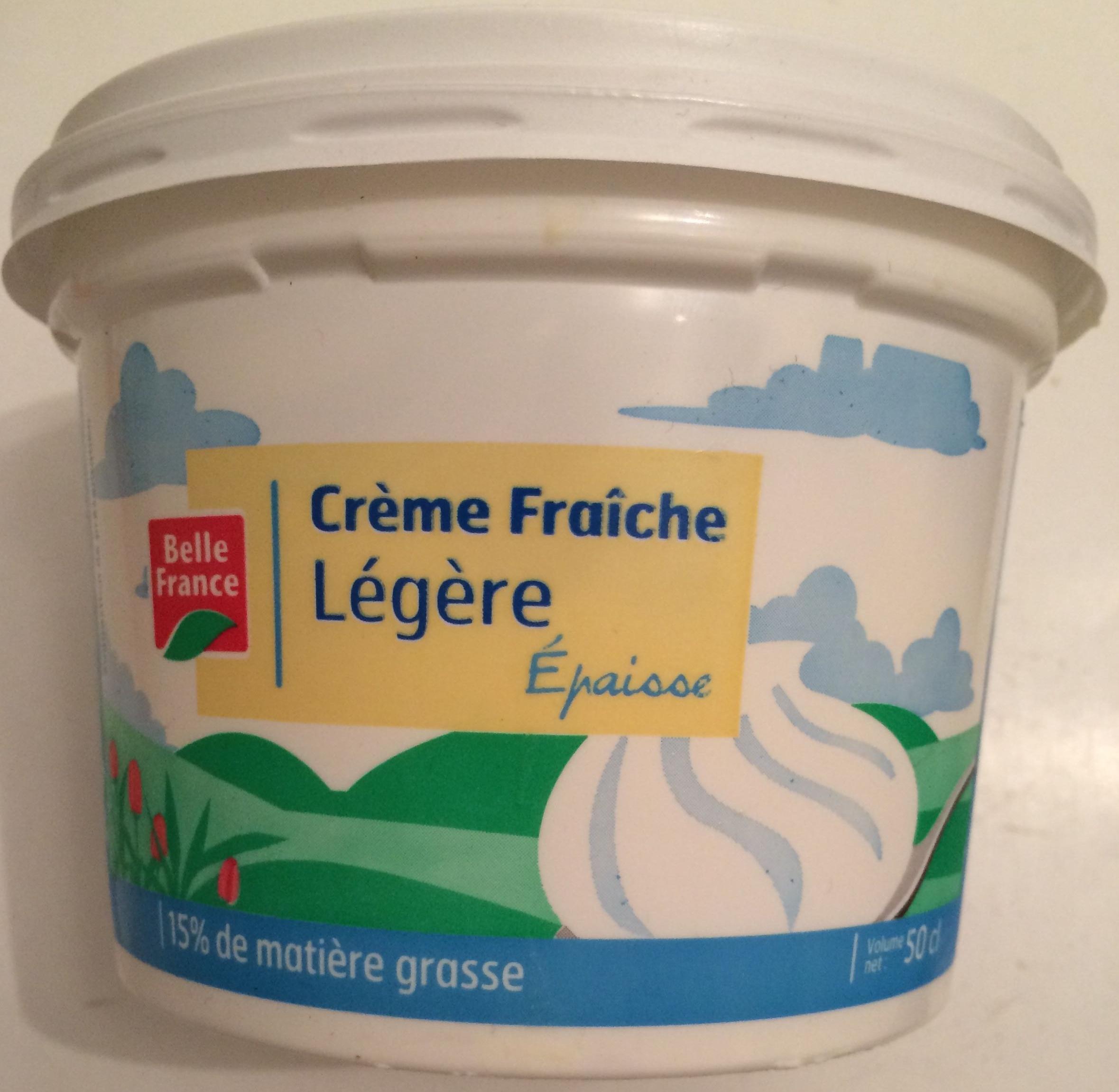 Crème Fraîche Légère (15% MG) - Product - fr
