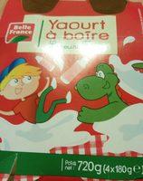 Yourt a Boire Saveur fraise. - Produit - fr