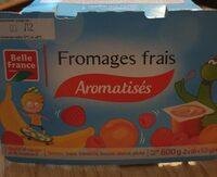 Fromages frais aromatisés - Produit
