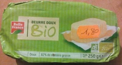 Beurre doux Bio - Produit