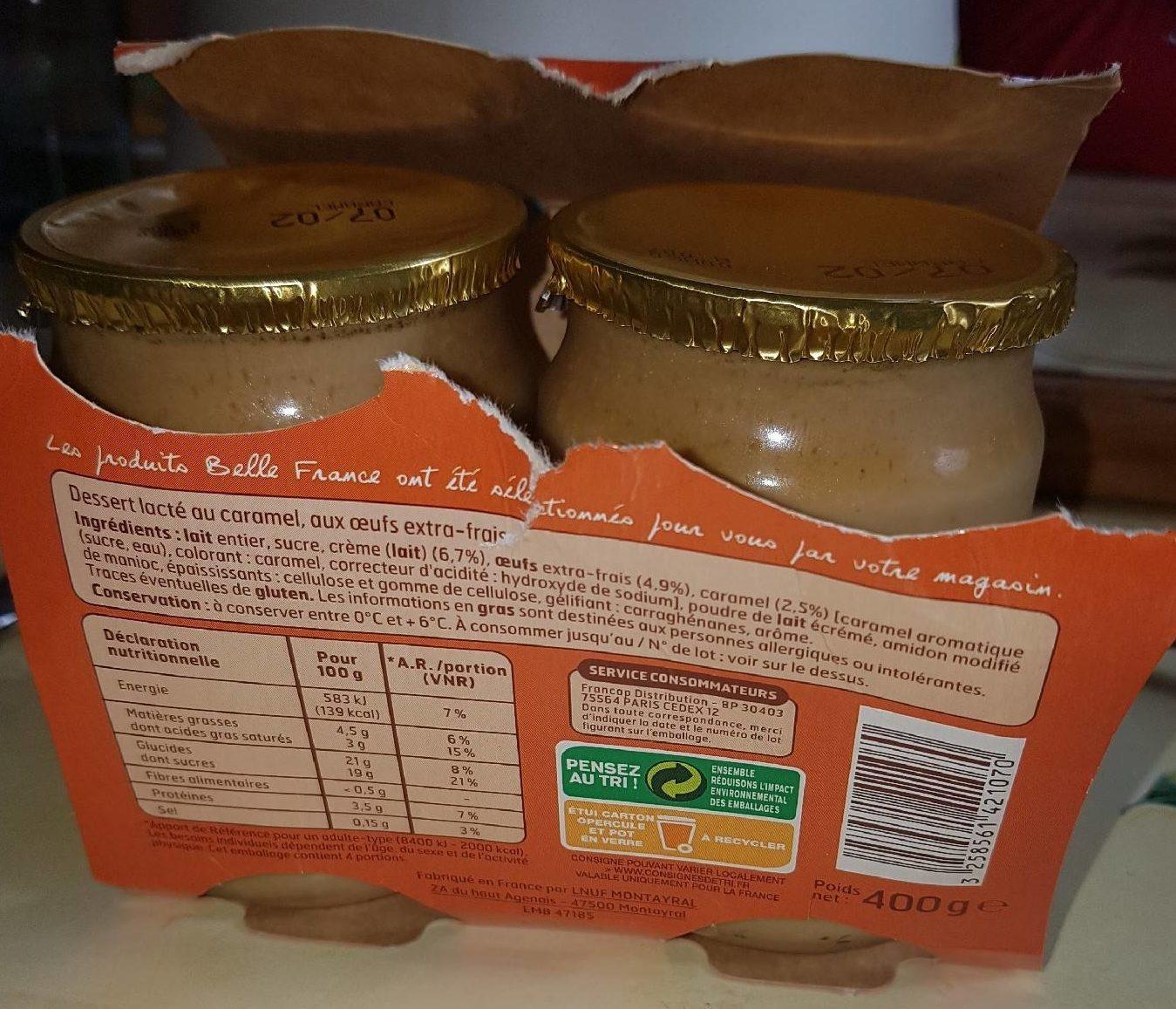 Petit Pot Crème Caramel - Produit - fr