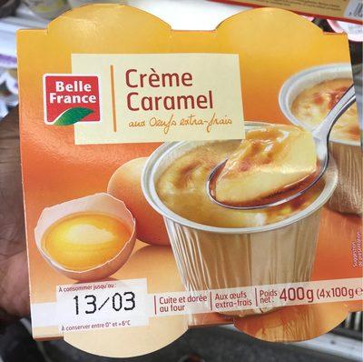 Crèmes Aux œufs, Caramel, Pack De 4, Marque Belle France - Produit - fr