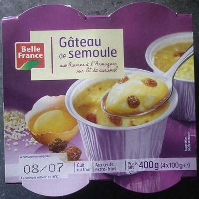 Gâteau de Semoule - Produit