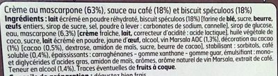 Tiramisu Spéculoos - Ingredients