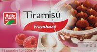 Tiramisù framboise - Product