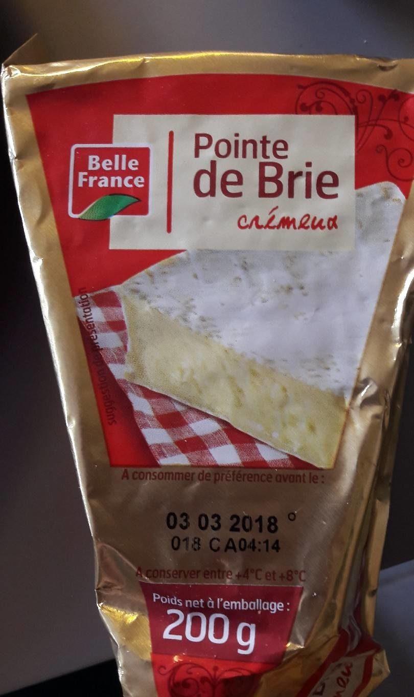 Pointe De Brie 200G - Product - fr