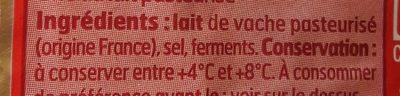 Pointe De Brie 200G - Ingredients - fr