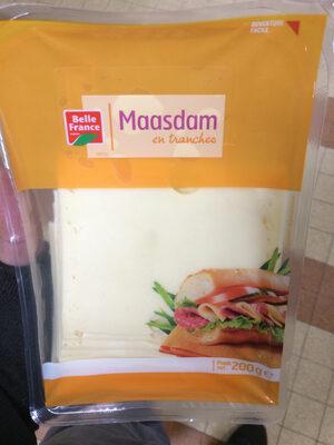 Maasdam en tranches - Product