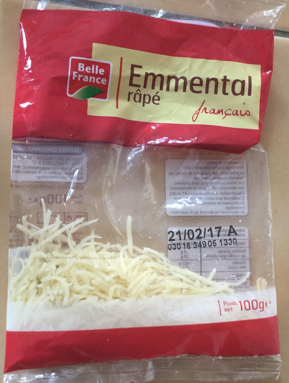 Emmental râpé francais (29% MG) - Produit - fr