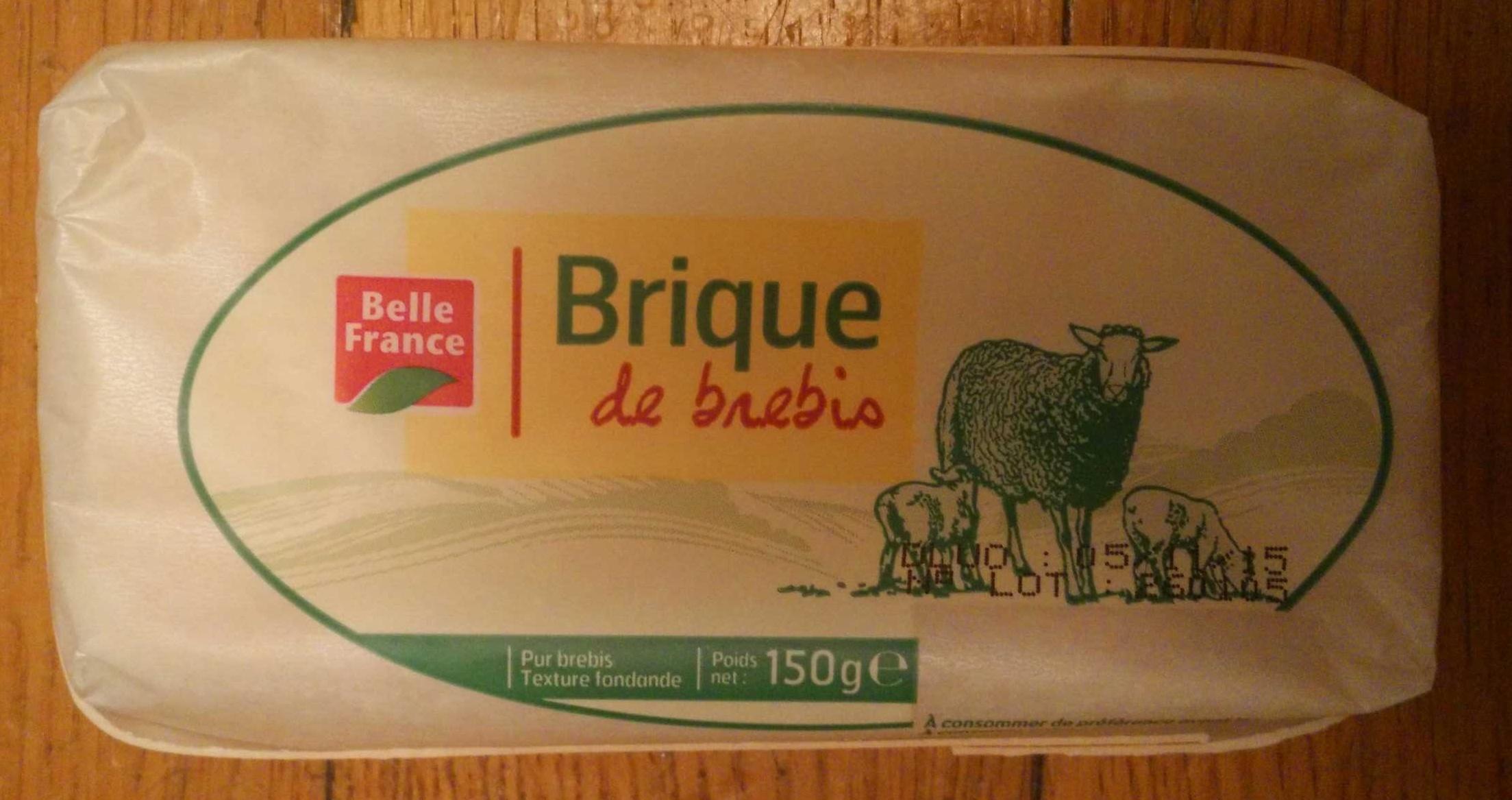 Brique de Brebis (26,3% MG) - Producto
