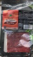 Viande des Grisons Boeuf séché - Produit - fr