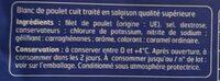 Poulet Qualité supérieure - Ingrédients - fr