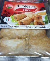 4 nems porc - Produit