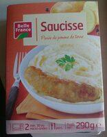 Saucisse Purée de pomme de terre - Produit - fr