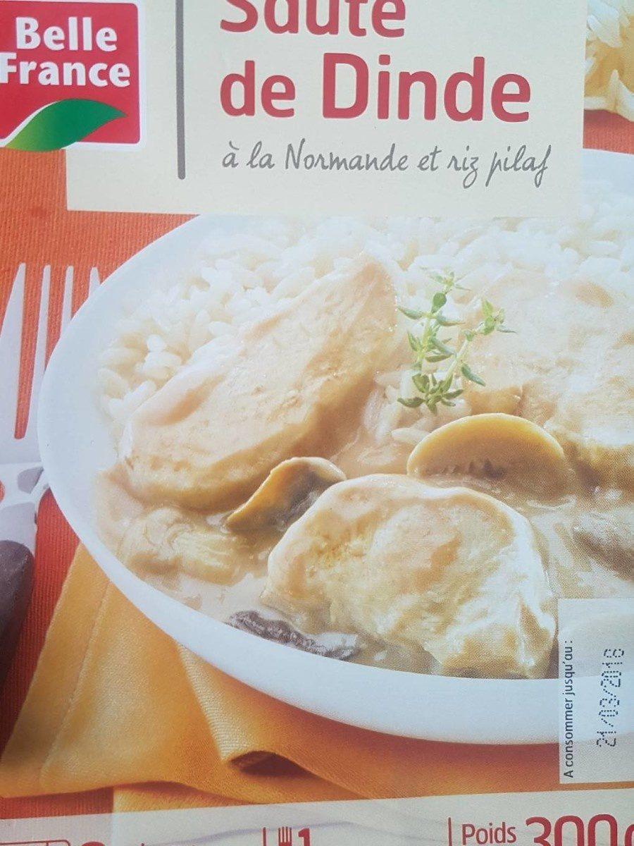 Sauté de Dinde à la Normande et riz Pilaf - Produit - fr