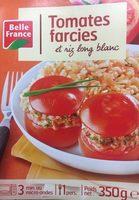 Tomates farcies et riz ling blanc - Produit