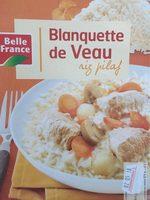 Blanquette de Veau Riz Pilaf - Product - fr