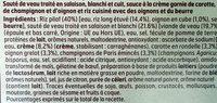 Blanquette de Veau Riz Pilaf - Ingrediënten - fr