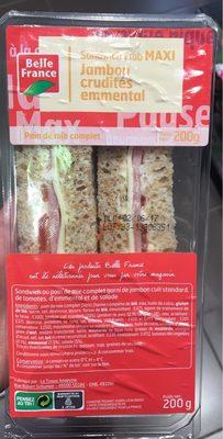 Sandwich Maxi Jambon crudités emmental - Produit
