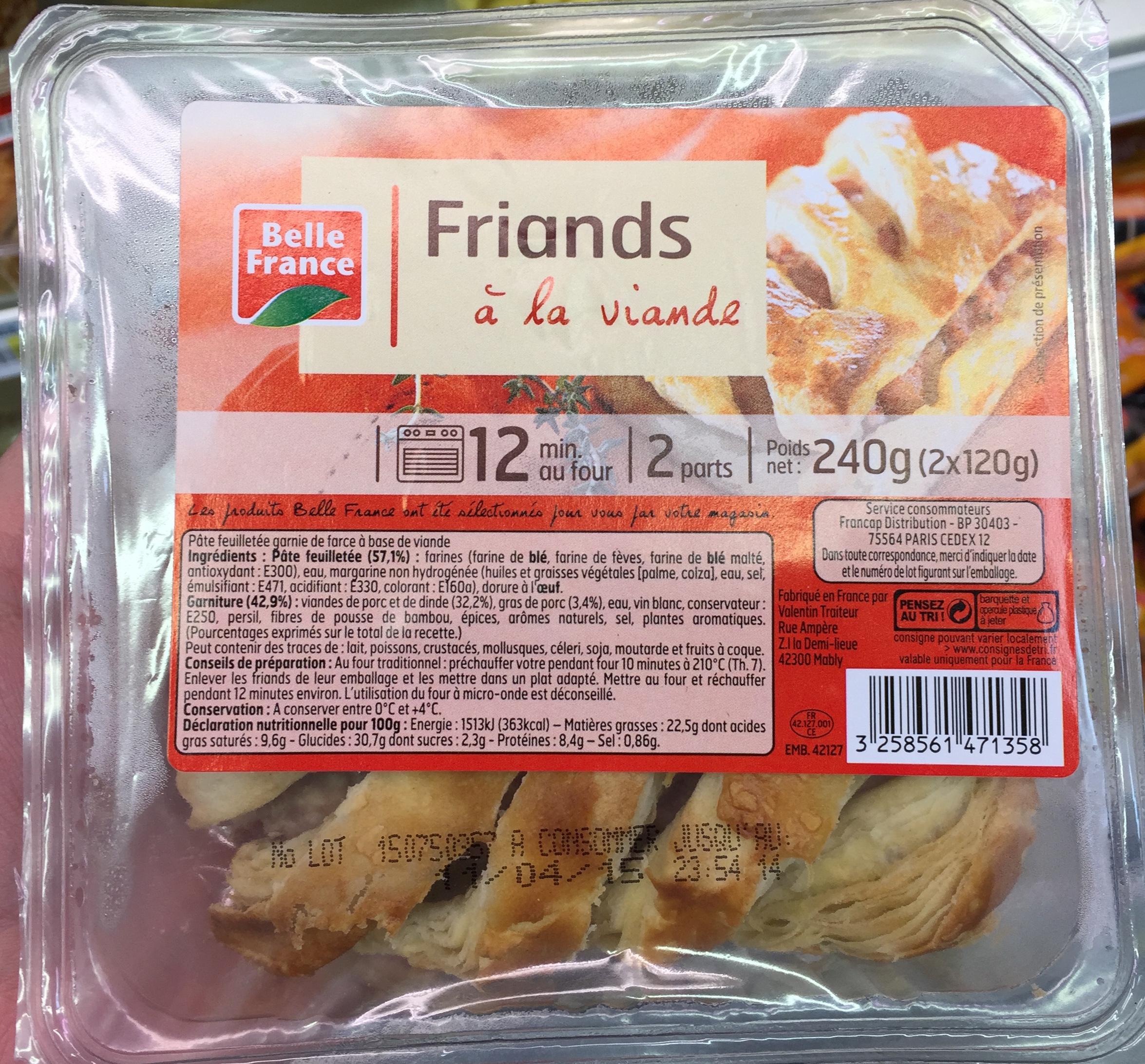 Friands à la viande - Product