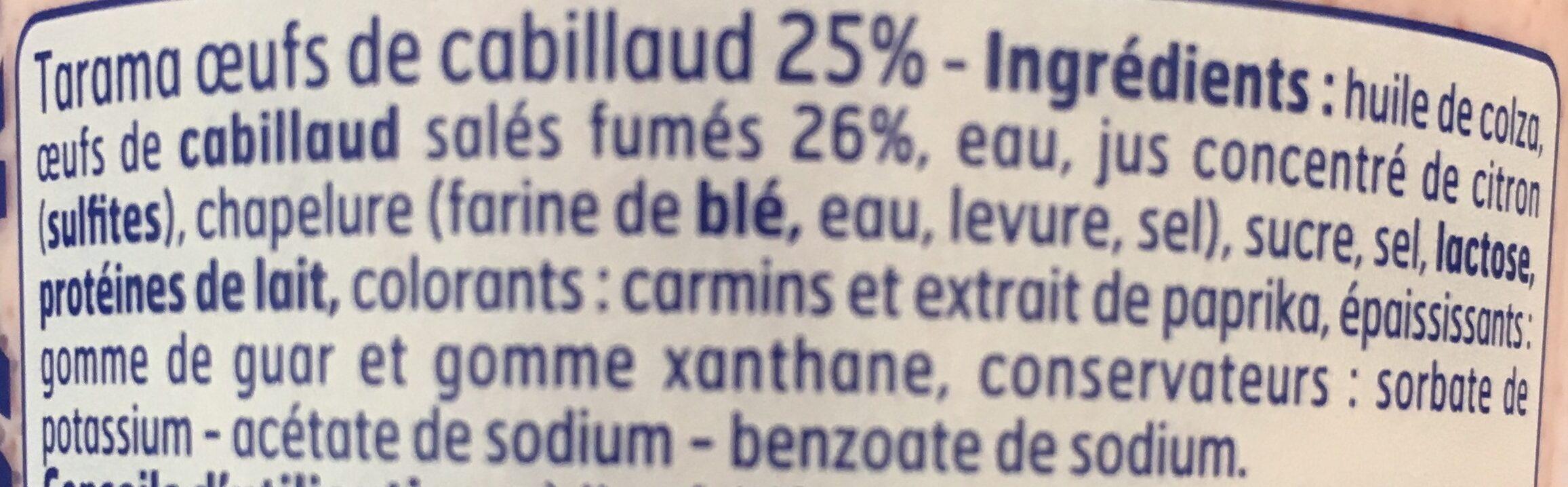 Tarama - Ingredients