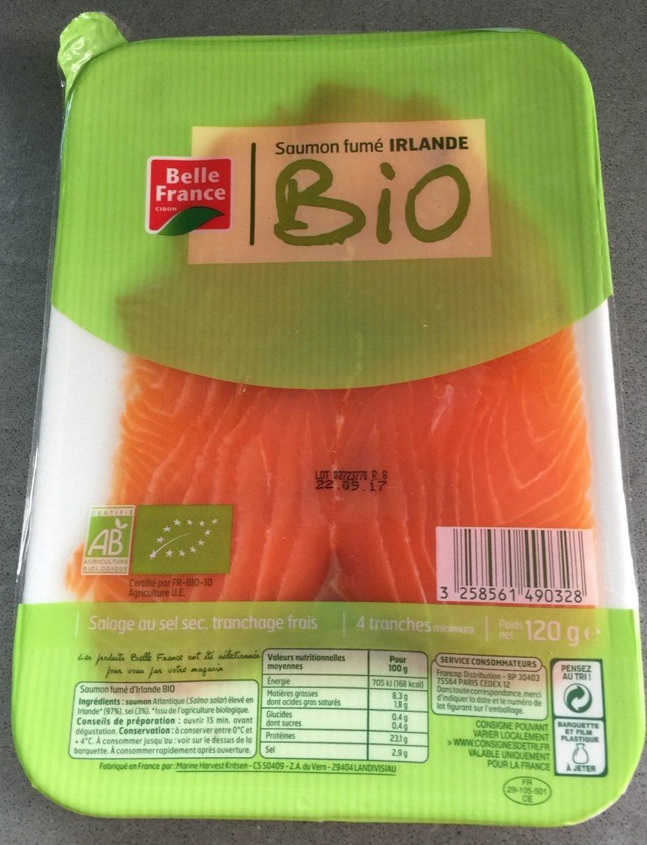 Saumon fume Irlande - Product