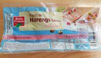 Filets de harengs fumés - Produit - fr