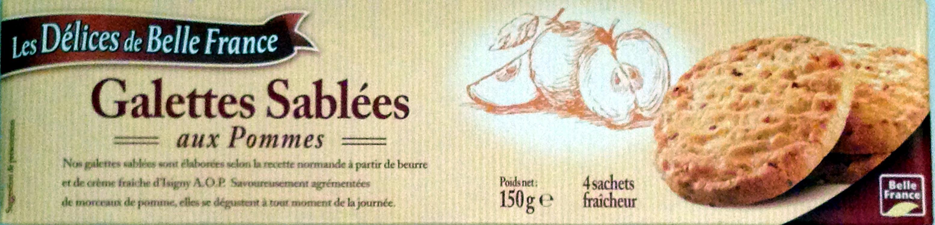 Galettes Sablées aux Pommes - Produit