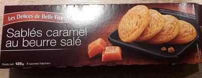 Galettes sablées caramel au beurre salé - Produit - fr