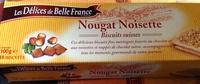Nougat Noisette - Biscuits suisses - Produit