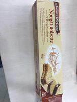 Nougat Noisette - Biscuits suisses - Ingrédients