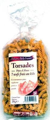 Torsades Pâtes d'Alsace (7  œufs frais au kilo) - Product - fr