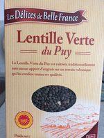 Lentilles vertes du Puy - Produit