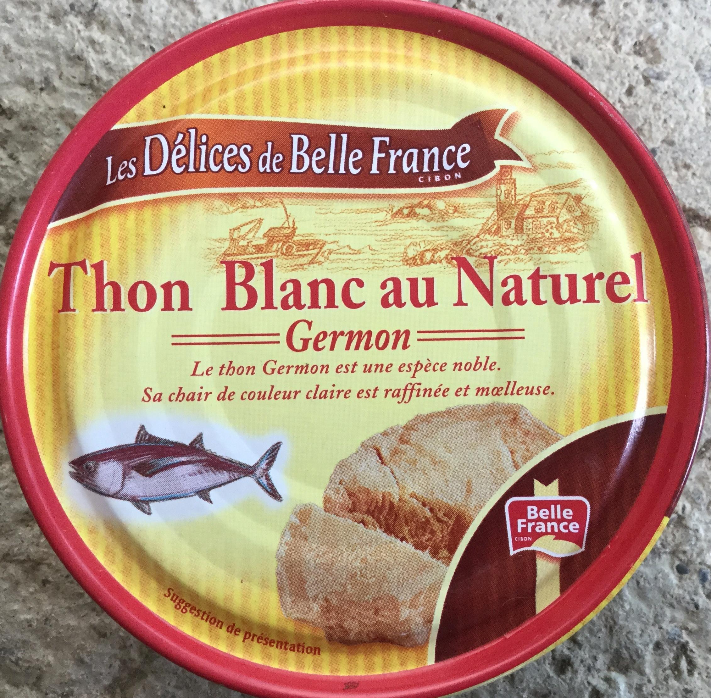 Thon blanc au naturel - Produit - fr