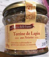 Terrine de Lapin aux noisettes - Product - fr
