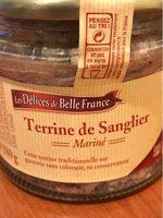 Terrine De Sanglier - Produit