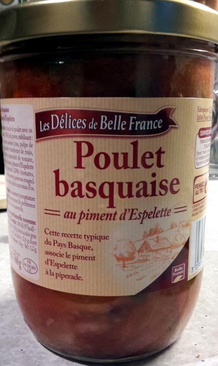 Poulet basquaise au piment d'Espelette - Produit - fr